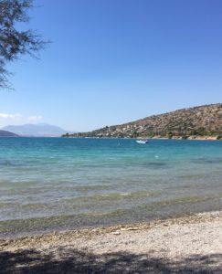 ギリシャのきれいな海